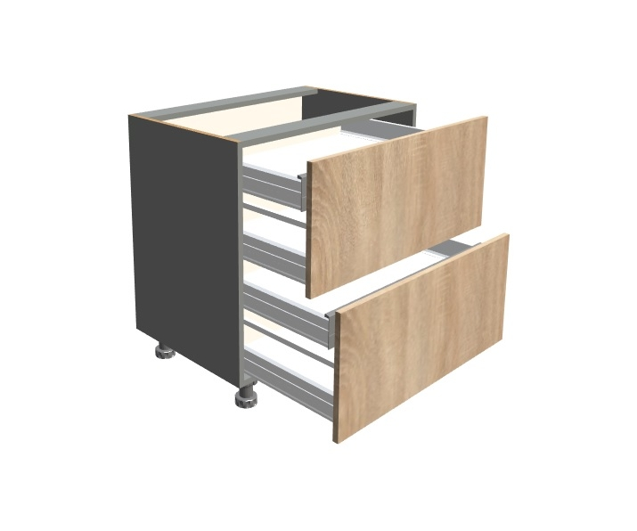 Szuflady 2-0 + szuflady wewnętrzne